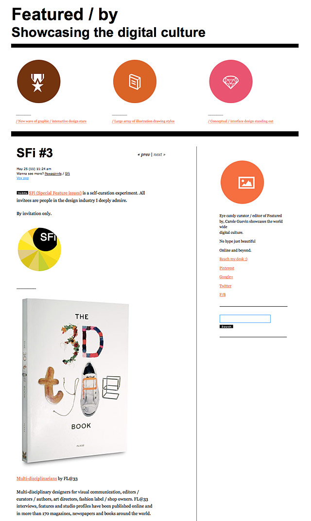 Featured by, SFi #3
